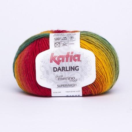 Katia Darling kleur 201 - Veelkleurig