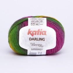 Katia Darling kleur 213 - Geel-Fuchsia-Lila-Rood-Groen