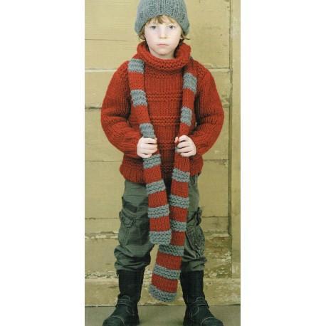 Candy jongenstrui sjaal muts wh1009