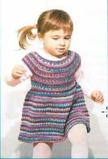 Knitcol Kinderjurkje Gratis Haak Of Breipatroon