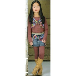 Knitcol Kindergilet wh1503