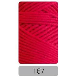 Pro Lana Joker 8 uni haakkatoen kleur 167 - Rood - OP is OP