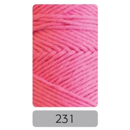 Pro Lana Joker 8 uni haakkatoen kleur 231 - Roze