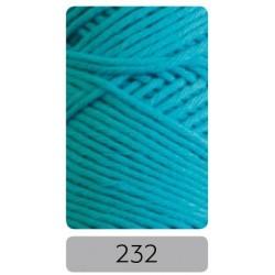 Pro Lana Joker 8 uni haakkatoen kleur 232 - Aqua Blauw - OP is OP