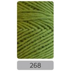 Pro Lana Joker 8 uni haakkatoen kleur 268 - Groen