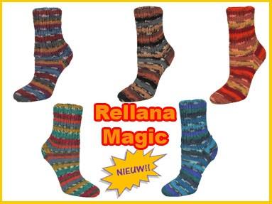 Rellana Flotte Socke Magic